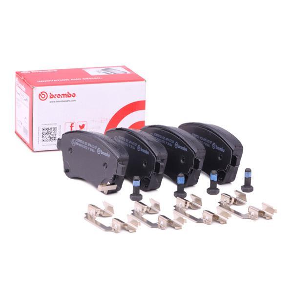 Bremsbelagsatz, Scheibenbremse BREMBO P 30 064 Bewertungen