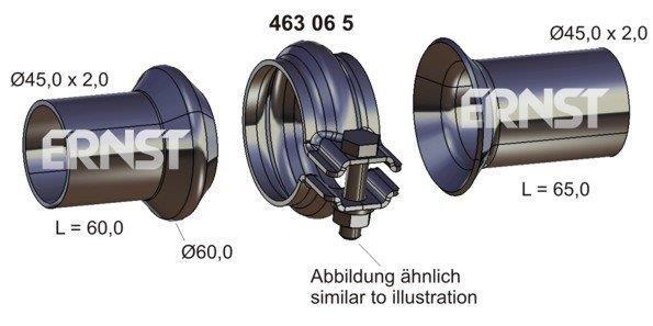 ERNST: Original Vorderrohr 463065 ()
