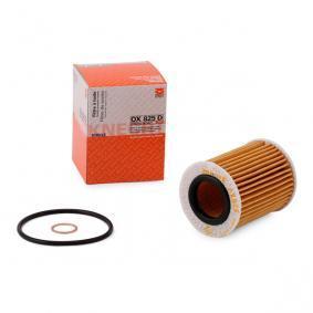 79929585 MAHLE ORIGINAL Filtereinsatz Innendurchmesser 2: 31,5mm, Ø: 63,5mm, Höhe: 82,0mm Ölfilter OX 825D günstig kaufen