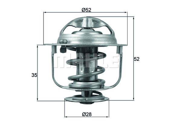 Thermostat, Kühlmittel BEHR THERMOT-TRONIK TI 207 87D Bewertungen