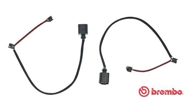 Origine Kit de contact avertisseur usure des garnitures de freins BREMBO A 00 206 (Longueur: 420mm)