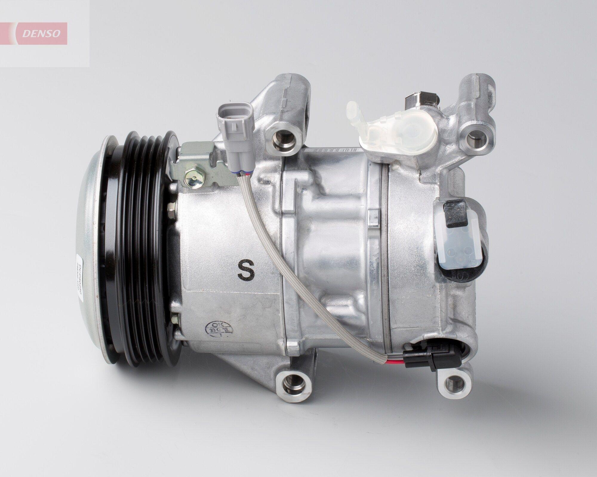 DCP50250 DENSO PAG 46, Kältemittel: R 134a Riemenscheiben-Ø: 110mm, Anzahl der Rillen: 4 Klimakompressor DCP50250 günstig kaufen