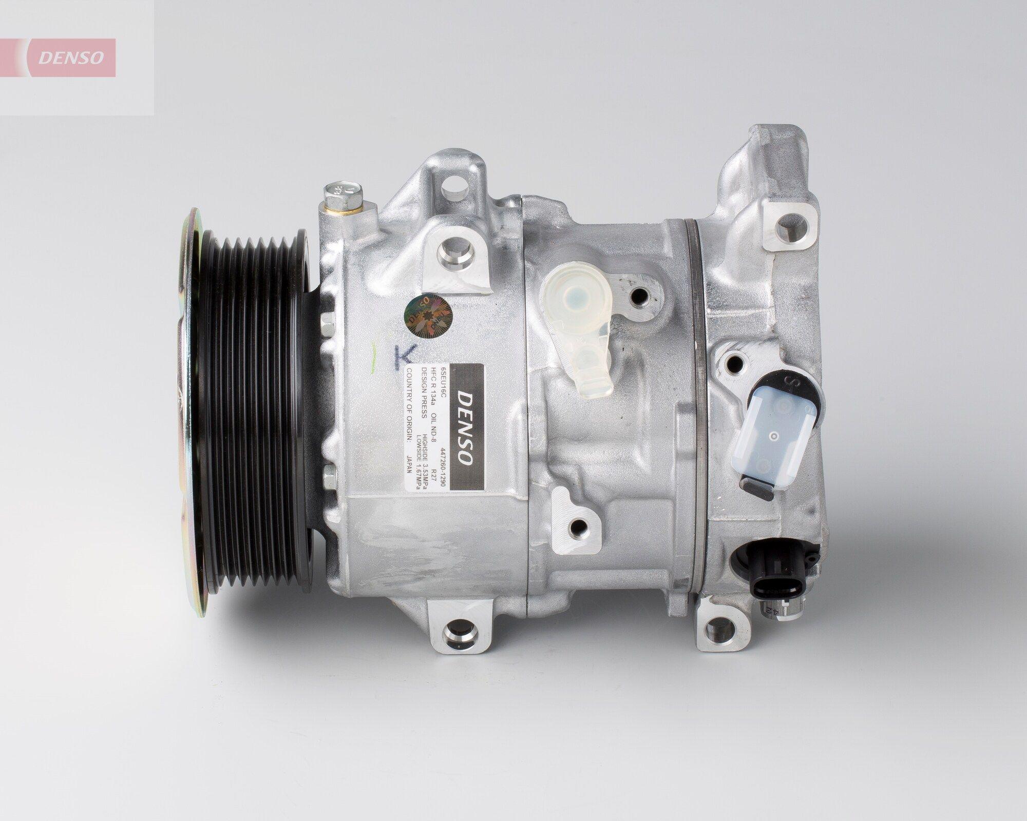 DCP51001 DENSO PAG 46, Kältemittel: R 134a Riemenscheiben-Ø: 110mm, Anzahl der Rillen: 7 Klimakompressor DCP51001 günstig kaufen