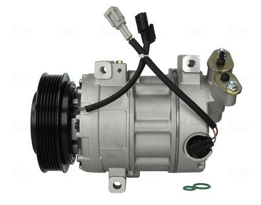 89386 NISSENS PAG 46, Kältemittel: R 134a Riemenscheiben-Ø: 121mm, Anzahl der Rillen: 6 Klimakompressor 89386 günstig kaufen