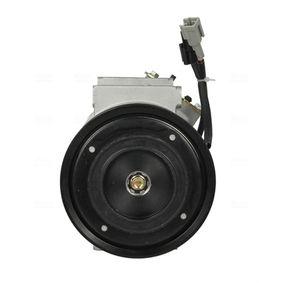 89551 Kompressor für Klimaanlage Klimakompressor NISSENS