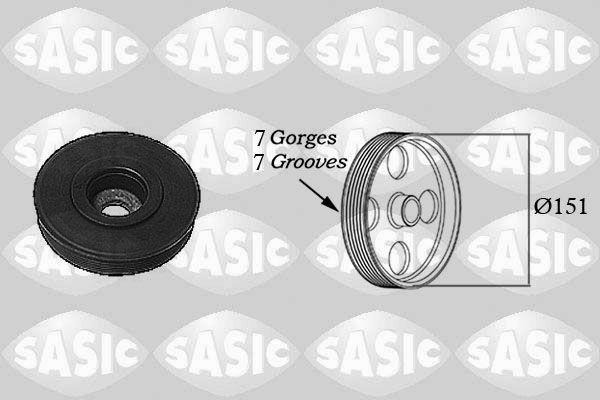 Acheter Kit de poulies vilebrequin SASIC 2154017 à tout moment