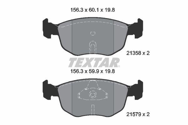 Bremsklötze TEXTAR 2135803