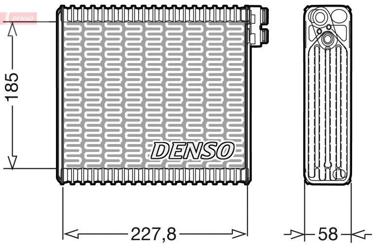 Original RENAULT Verdampfer Klimaanlage DEV09011