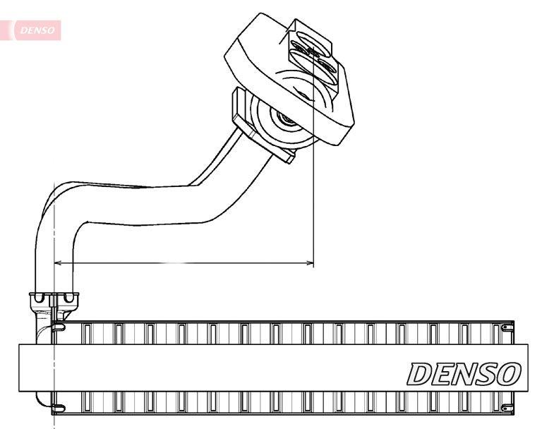 DENSO: Original Verdampfer Klimaanlage DEV09020 ()