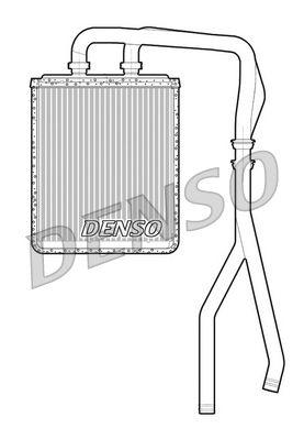 OE Original Wärmetauscher Innenraumheizung DRR12010 DENSO