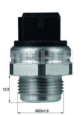 MAHLE ORIGINAL: Original Thermostat Kühlmittel TX 18 75D ()
