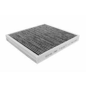 V10-31-0003 VEMO Aktivkohlefilter, Q+, Erstausrüsterqualität MADE IN GERMANY Breite: 233mm, Länge: 255mm Filter, Innenraumluft V10-31-0003 günstig kaufen
