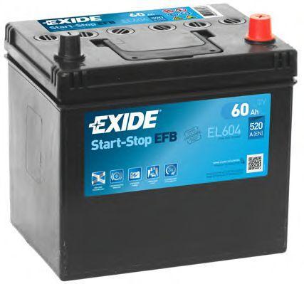 Original SSANGYONG Starterbatterie EL604
