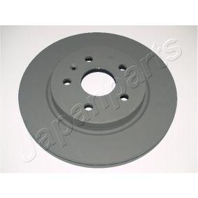 DP-W08 JAPANPARTS Hinterachse, belüftet Ø: 315mm, Bremsscheibendicke: 23mm Bremsscheibe DP-W08 günstig kaufen