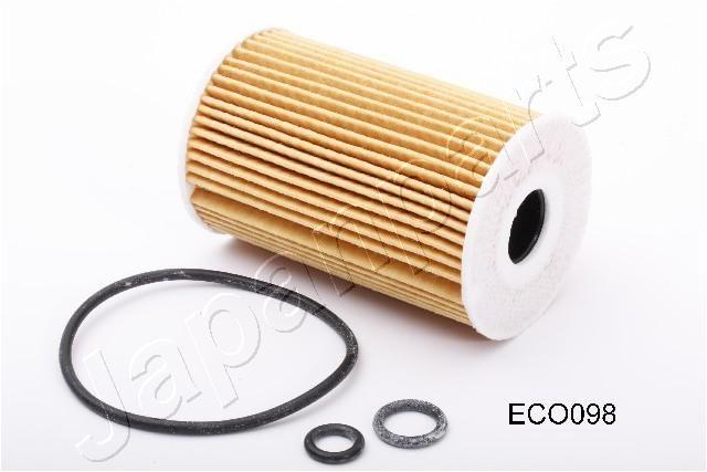 Achat de FO-ECO098 JAPANPARTS Cartouche filtrante Diamètre intérieur: 21mm, Ø: 65mm, Longueur: 101mm, Longueur: 101mm Filtre à huile FO-ECO098 pas chères