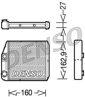OE Original Heizungskühler DRR09035 DENSO