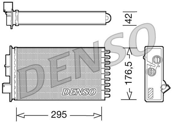 OE Original Wärmetauscher Heizung DRR12022 DENSO