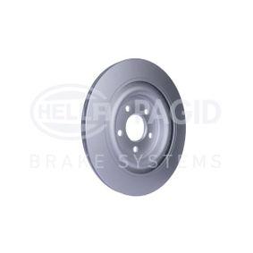 8DD 355 115-581 Bremsscheibe HELLA - Markenprodukte billig