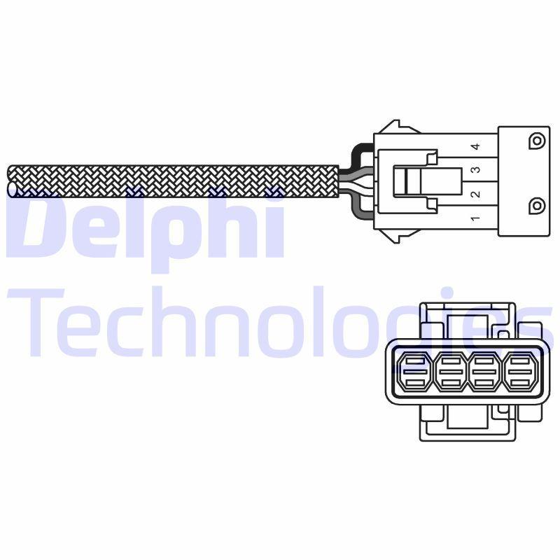 PEUGEOT Capteur lambda d'Origine ES20255-12B1