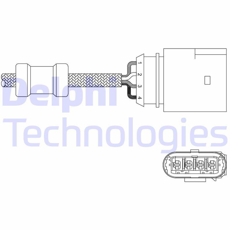 Lambdasond DELPHI ES20348-12B1 Recensioner