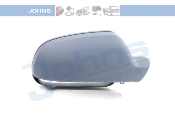 Audi A4 2016 Side view mirror cover JOHNS 13 12 38-94: Right, Primed, for indicator