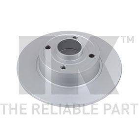 313937 NK Voll, beschichtet, ohne ABS-Sensorring, ohne Radlager Ø: 240mm, Felge: 4,00-loch, Bremsscheibendicke: 8,00mm Bremsscheibe 313937 günstig kaufen