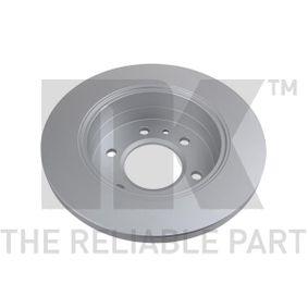 3147122 Discos de Travão NK 3147122 Enorme selecção - fortemente reduzidos