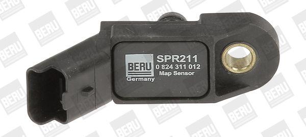 Jutiklis, kompresoriaus slėgis SPR211 BERU — tik naujos dalys