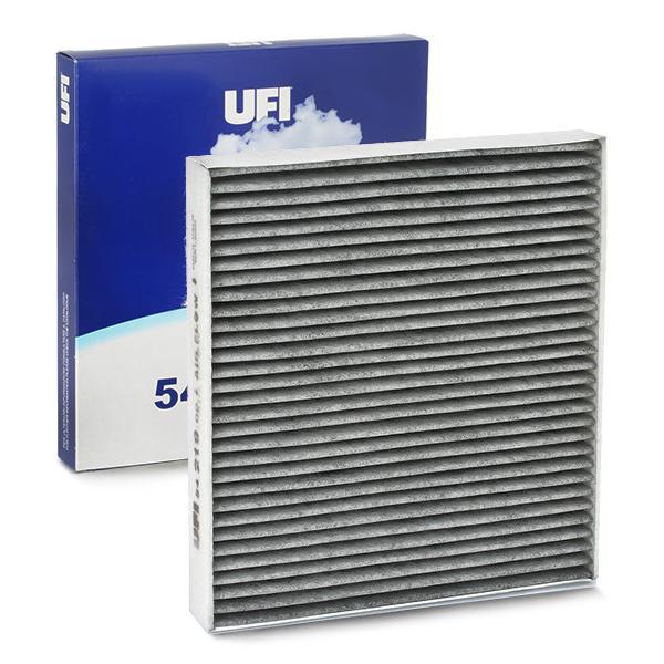 54.219.00 UFI Aktivkohlefilter Breite: 234mm, Höhe: 30mm, Länge: 255mm Filter, Innenraumluft 54.219.00 günstig kaufen