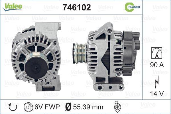 Δυναμό 746102 VALEO με μια εξαιρετική αναλογία τιμής - απόδοσης