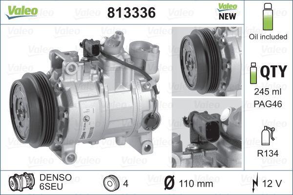 Kompressor VALEO 813336