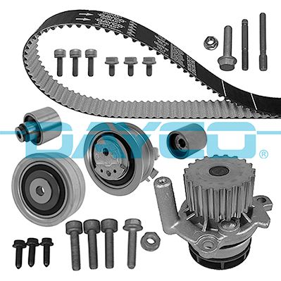 KTBWP7880 Timing belt kit and water pump DAYCO KTBWP7880 - Huge selection — heavily reduced