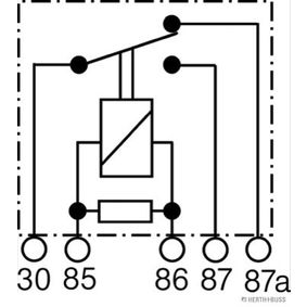 75613103 Relais, Arbeitsstrom HERTH+BUSS ELPARTS - Markenprodukte billig
