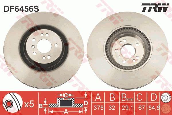 Bremsscheibe TRW DF6456S Bewertungen