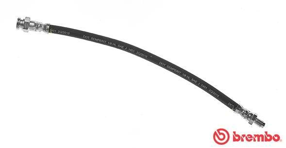 SMART CITY-COUPE 2003 Rohre - Original BREMBO T 23 089 Länge: 340mm, Gewindemaß 1: F10X1, Gewindemaß 2: M10X1