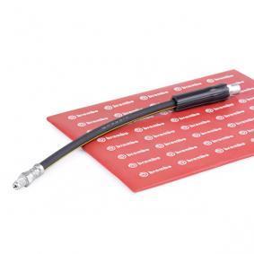 Achat de T 06 018 BREMBO Longueur: 330mm, Taraudage/Filetage 1: F10X1, Taraudage/Filetage 2: M10X1 Flexible de frein T 06 018 pas chères