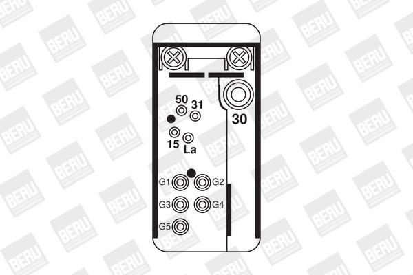 Valvola iniezione DHT068 BERU — Solo ricambi nuovi