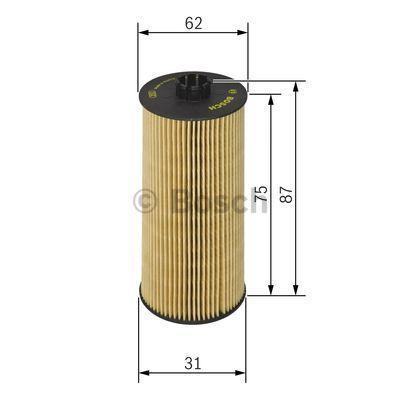 F 026 407 015 Filter BOSCH - Markenprodukte billig