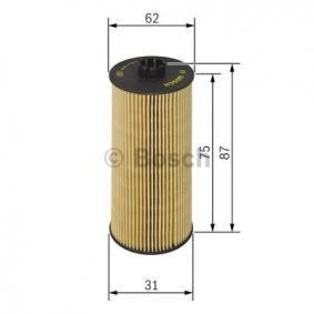 F 026 407 015 Filtre à huile BOSCH - Produits de marque bon marché