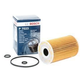 BOSCH Cartucho filtrante Ø: 65mm, Altura: 101mm Filtro de aceite F 026 407 023 a buen precio