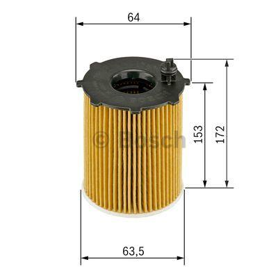F 026 407 072 Ölfilter BOSCH in Original Qualität