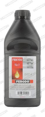 Acheter Huile de frein DOT 4 FERODO FBX100 à tout moment