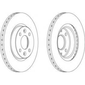 DDF10961 FERODO belüftet, mit Schrauben Ø: 259mm, Lochanzahl: 4, Bremsscheibendicke: 20.6mm Bremsscheibe DDF1096-1 günstig kaufen