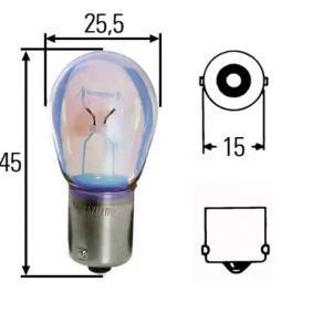 8GA002073123 Glühlampe STANDARD HELLA P21W - Große Auswahl - stark reduziert