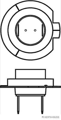 89901202 Glühlampe, Fernscheinwerfer HERTH+BUSS ELPARTS Test