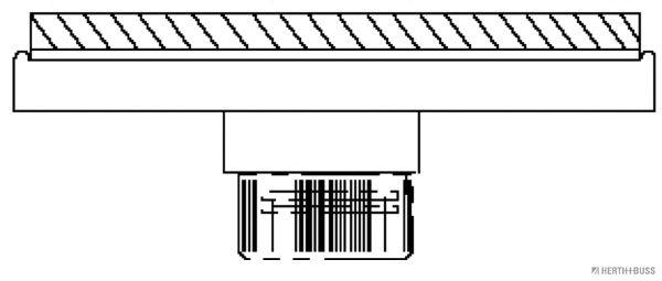 Lampadina posizione 82711131 HERTH+BUSS ELPARTS — Solo ricambi nuovi