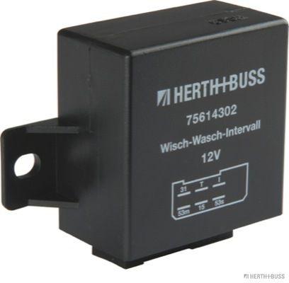Relais, Wisch-Wasch-Intervall HERTH+BUSS ELPARTS 75614302