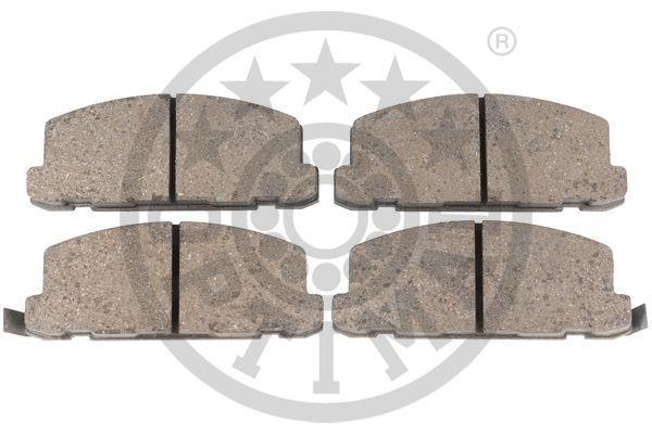 21142 OPTIMAL Vorderachse, nicht für Verschleißwarnanzeiger vorbereitet Breite: 41,5mm, Dicke/Stärke: 15mm Bremsbelagsatz, Scheibenbremse 9394 günstig kaufen