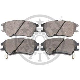 12179 OPTIMAL Hinterachse, mit Bremssattelschrauben, mit Zubehör Breite: 56mm, Dicke/Stärke: 17mm Bremsbelagsatz, Scheibenbremse 12179 günstig kaufen