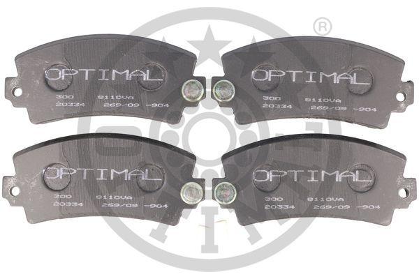 23347 OPTIMAL Vorderachse Breite: 68,3mm, Dicke/Stärke: 20,3mm Bremsbelagsatz, Scheibenbremse 85700 günstig kaufen